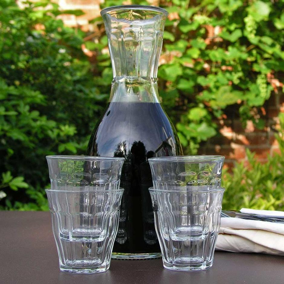French Glass Carafe