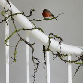 Twig Garland with Moss