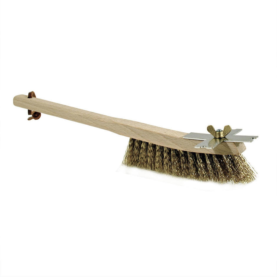 Grill Brush with Stainless Steel Scraper