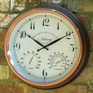 Astbury Outdoor Clock
