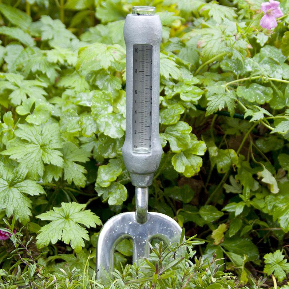 Gardener's Fork Rain Gauge