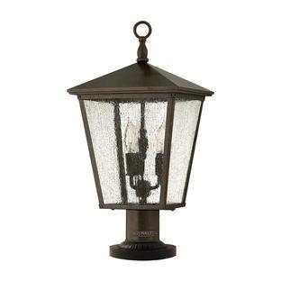 Trellis Outdoor Pedestal Lantern