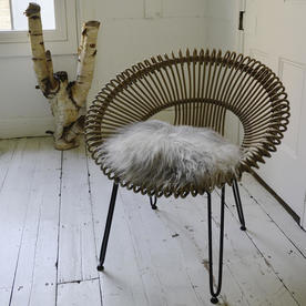 Organic Longhair Sheepskin Seat Cover