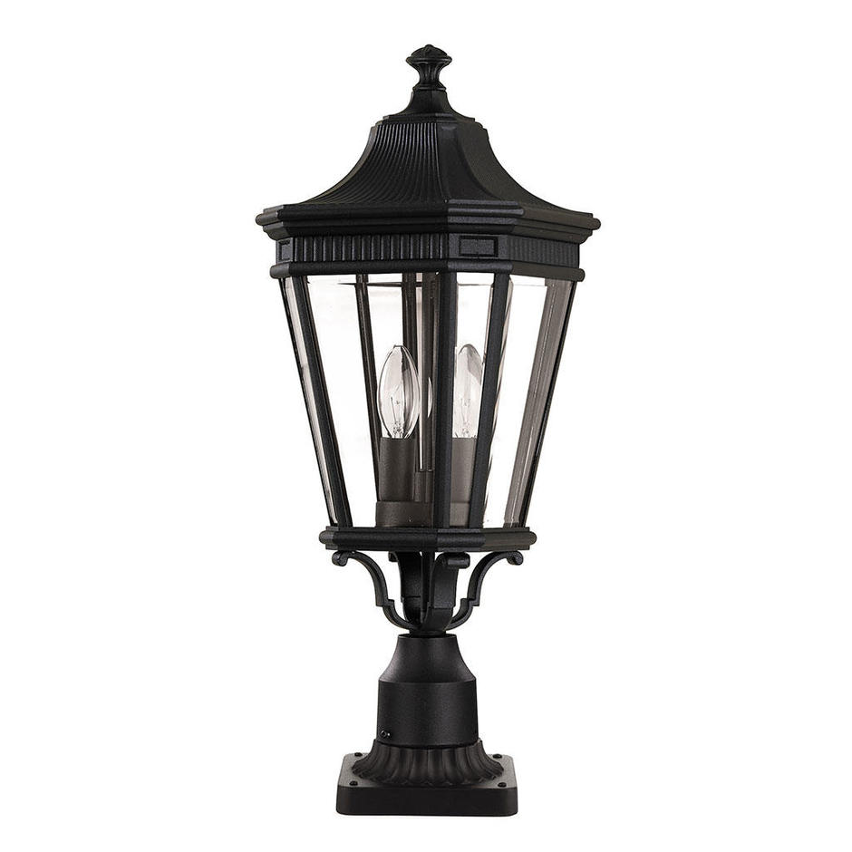 Cotswold Lane Outdoor Pedestal Lanterns