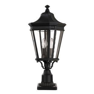 Cotswold Lane Outdoor Pedestal Lanterns