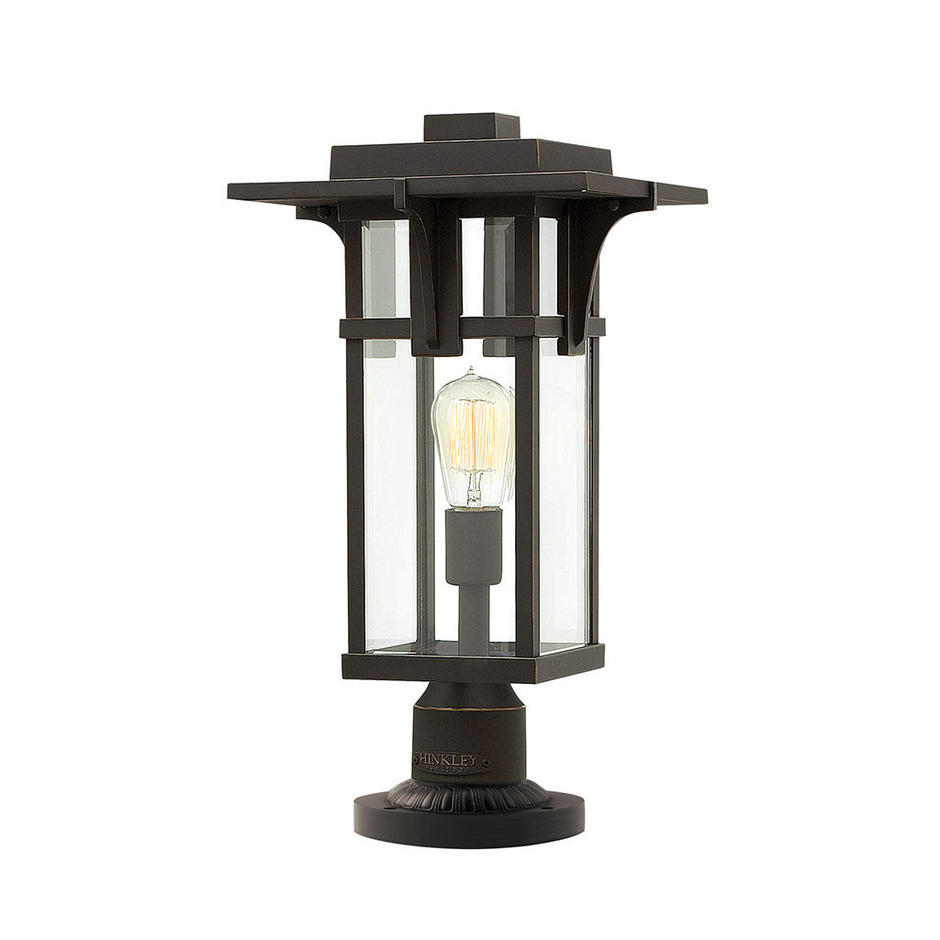 Manhattan Outdoor Pedestal Lantern
