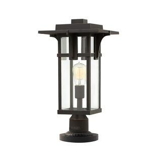 Manhattan Outdoor Pedestal Lantern