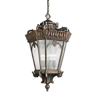 Tournai Grand Outdoor Hanging Lantern