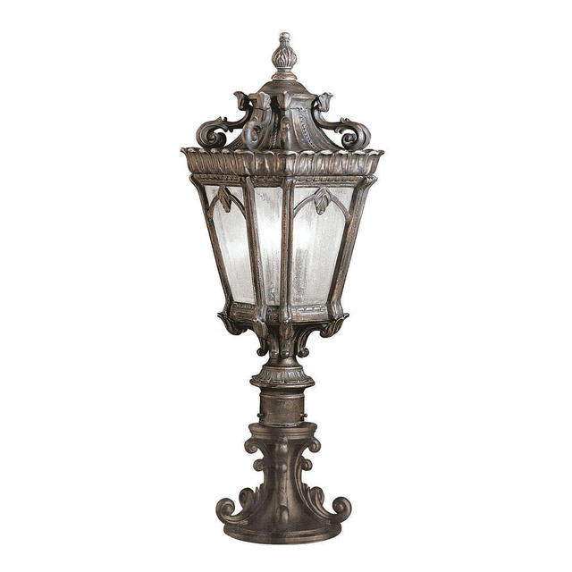 Buy Hornbaek Outdoor Pedestal Lantern By Elstead Lighting: Buy Tournai Outdoor Pedestal Lantern By Kichler