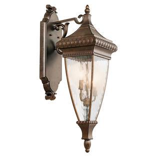 Venetian Rain Outdoor Wall Lantern