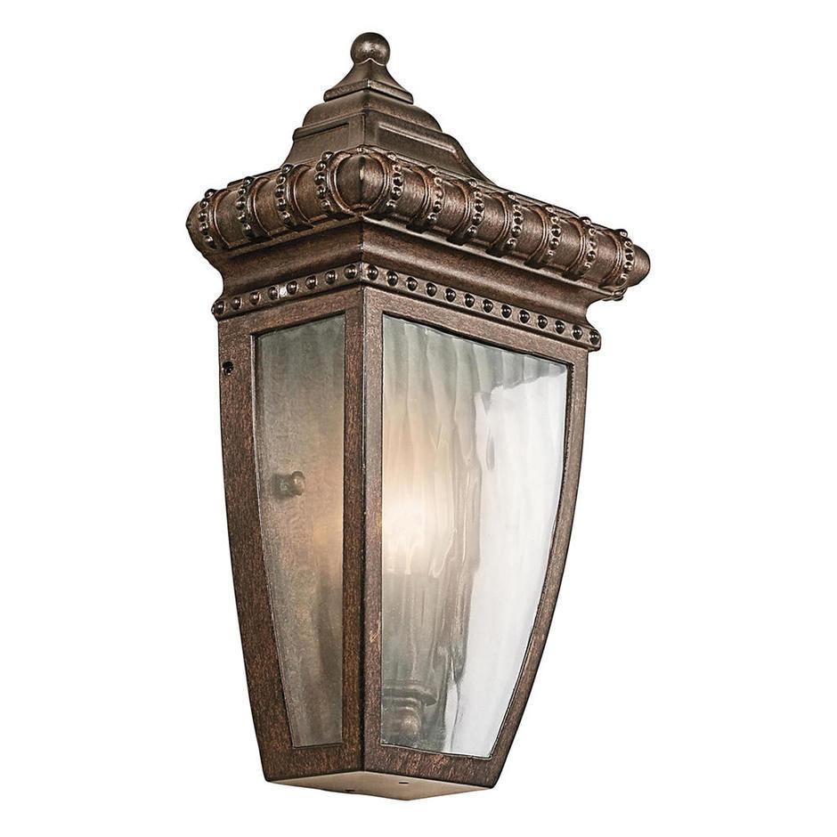 Venetian Rain Outdoor Flush Wall Lantern