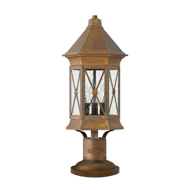 Hinkley Montreal Pedestal Light: Buy Brighton Outdoor Pedestal Lantern By Hinkley Lighting