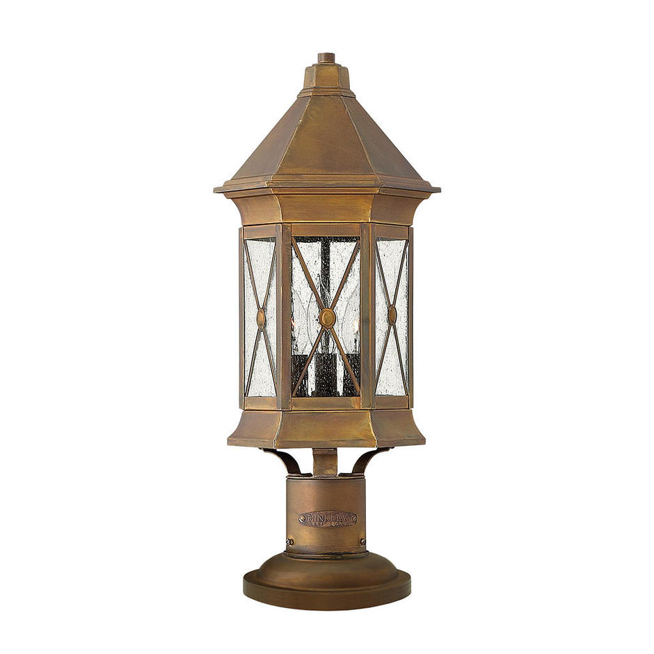 Brighton Outdoor Pedestal Lantern