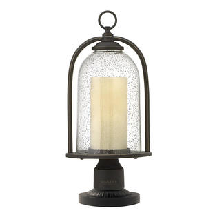 Quincy Outdoor Pedestal Lantern