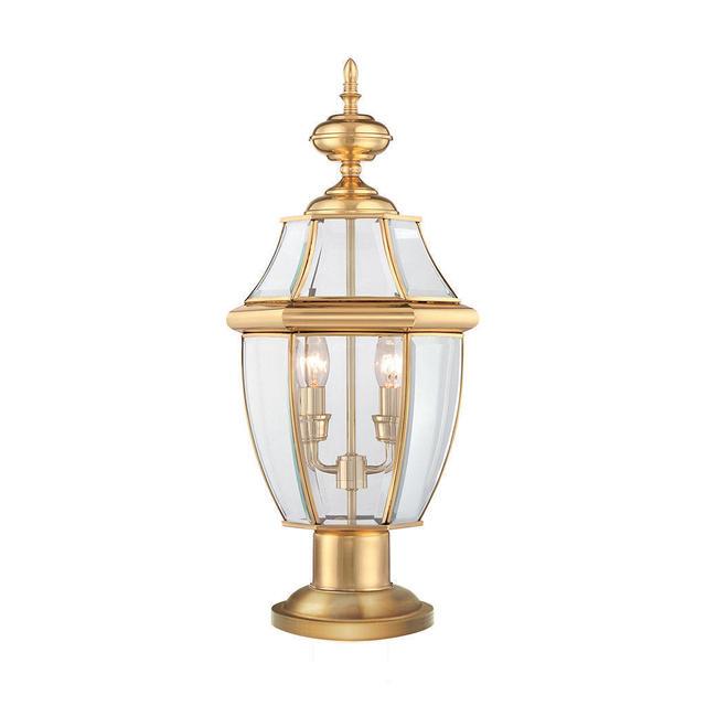 Buy Newbury Outdoor Pedestal Lantern By Quoizel