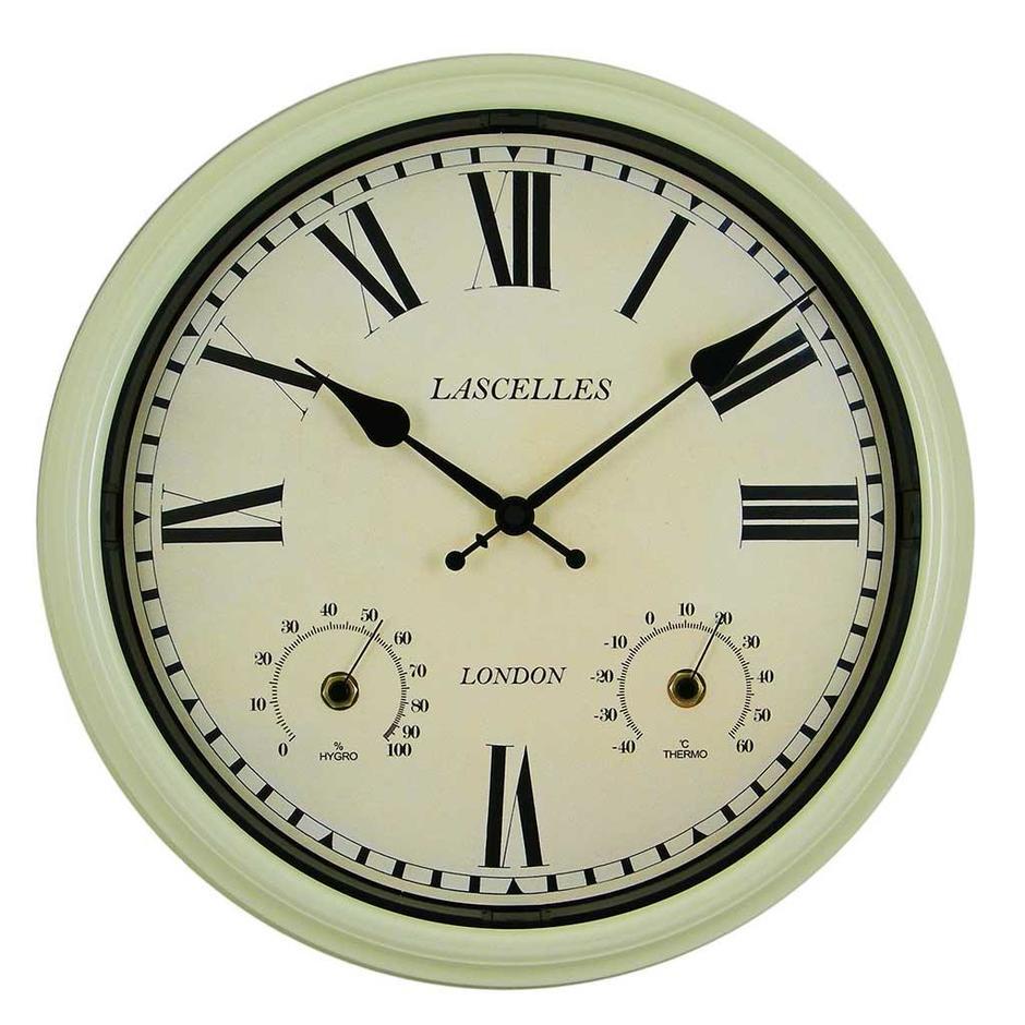 Metal Outdoor Clock