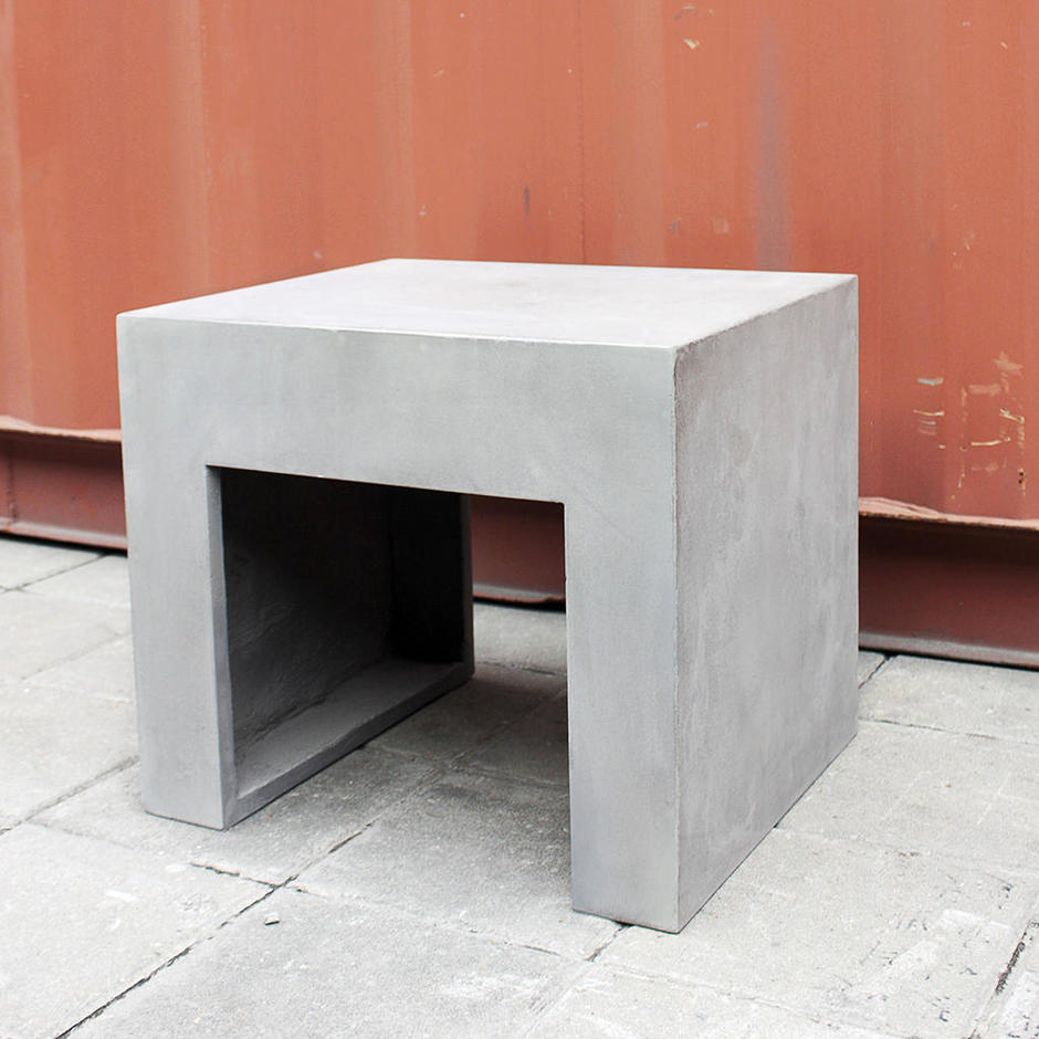 Concrete Stool/Side Table