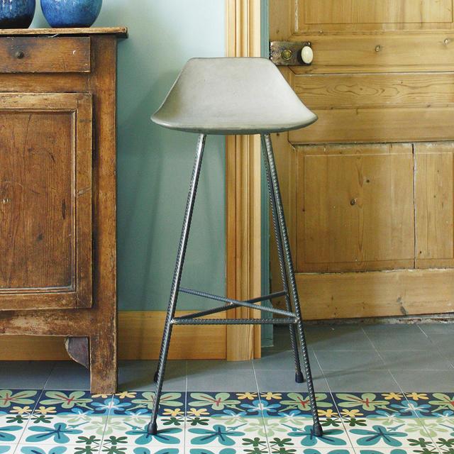 Buy Hauteville Concrete Bar Chair By Lyon Beton The Worm