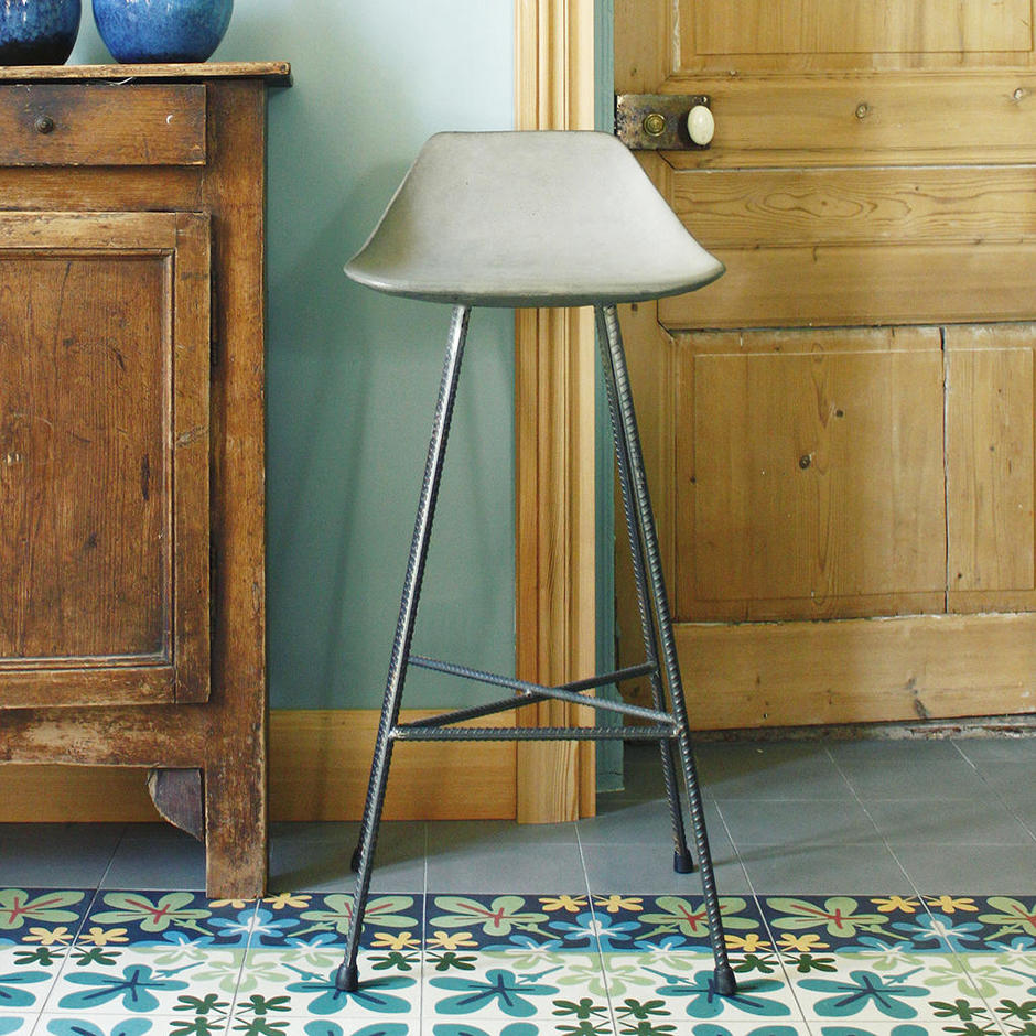 Hauteville Concrete Bar Chair