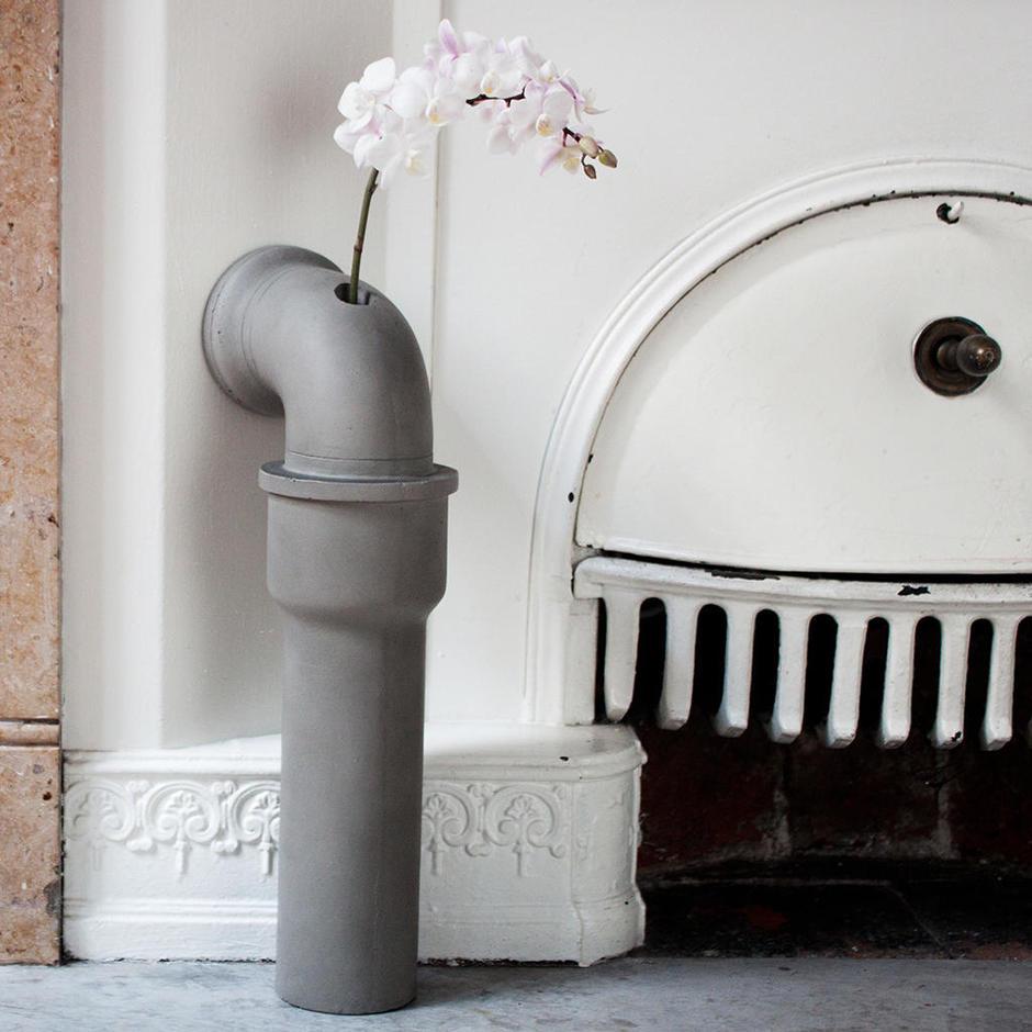 Concrete Pipeline Vases