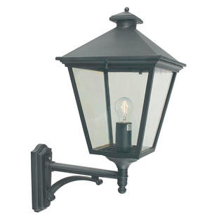 Turin Grande Outdoor Up Wall Lanterns