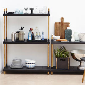Frame Outdoor Low Shelving System