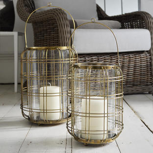 Brass Sunningdale Lanterns