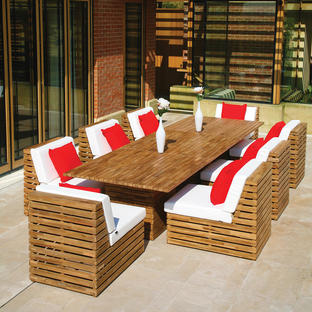 Venetian Rectangular Dining Table