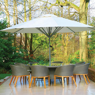 Sunlight Round Parasols with LED Lights