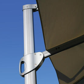 Sunrise Round Cantilever Parasol with LED Lights