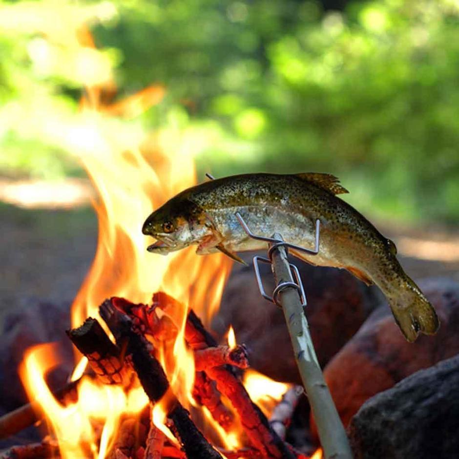 Grandpa's Fire Fork