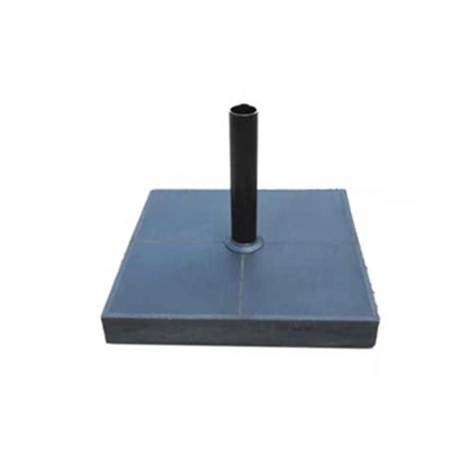 Slate Parasol Base with Wheels