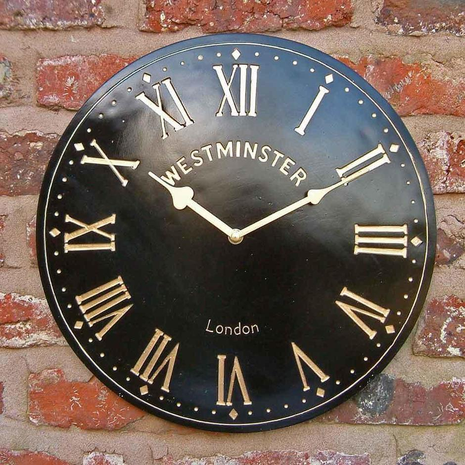 Outdoor Westminster Clock