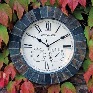 Slate Style Garden Clock