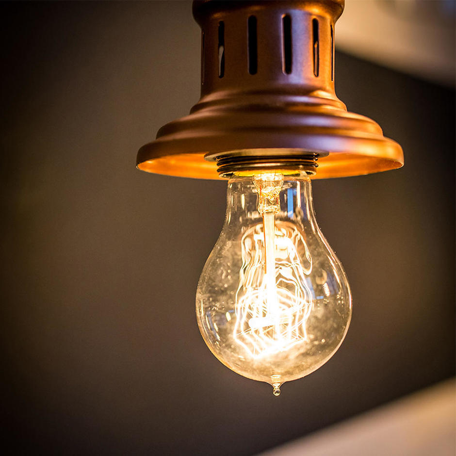 Edison Quad Loop Filament Light Bulb