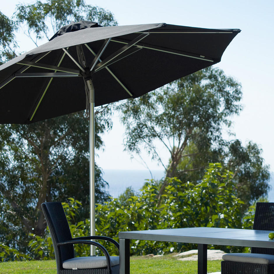 Hamilton 3m Hexagonal Parasol with Tilt