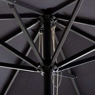 Dwell 2m Square Parasol with Pulley