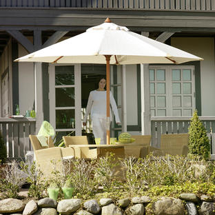 Aberdeen 3m Hexagonal Parasol with Crank Handle