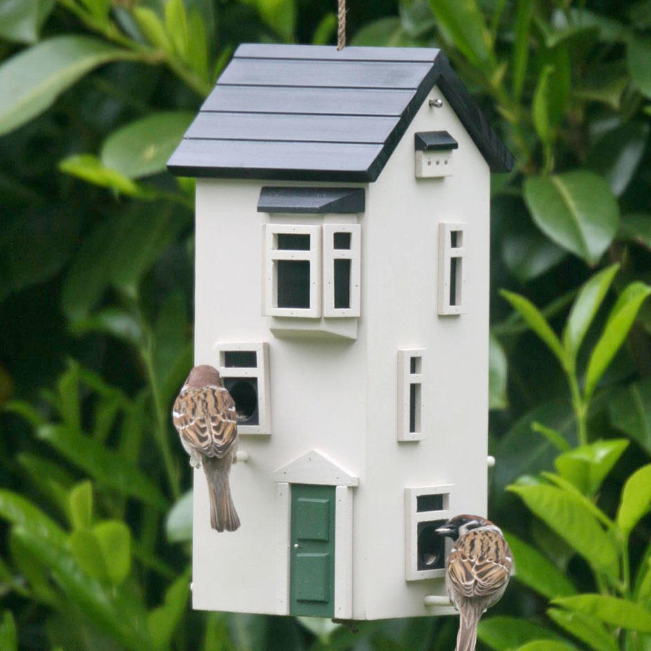 buy townhouse bird feeder the worm that turned. Black Bedroom Furniture Sets. Home Design Ideas