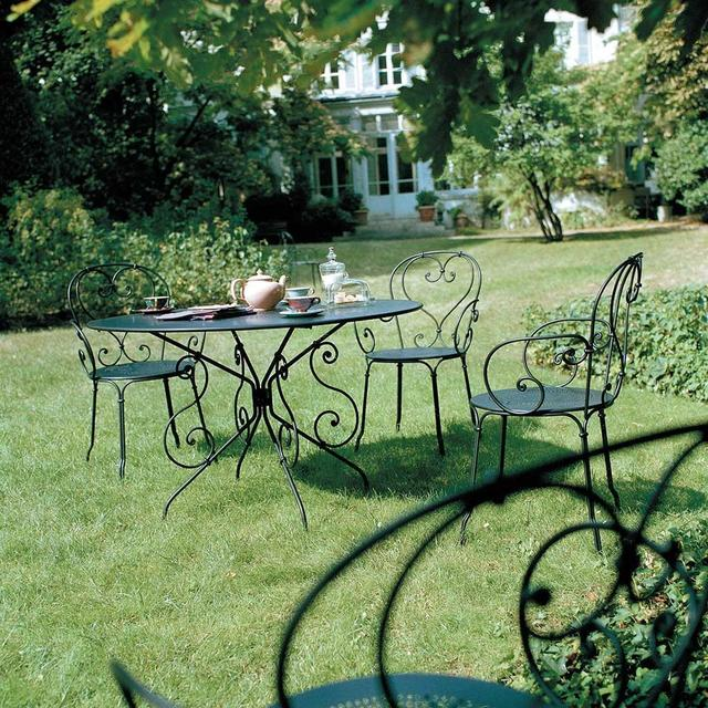 Buy fermob 1900 chairs by fermob outdoor furniture the for Garden design 1900
