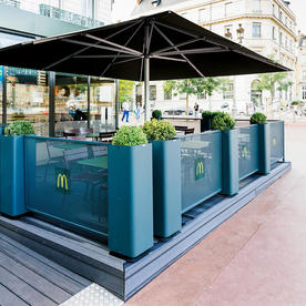 Modular Terrace Screens