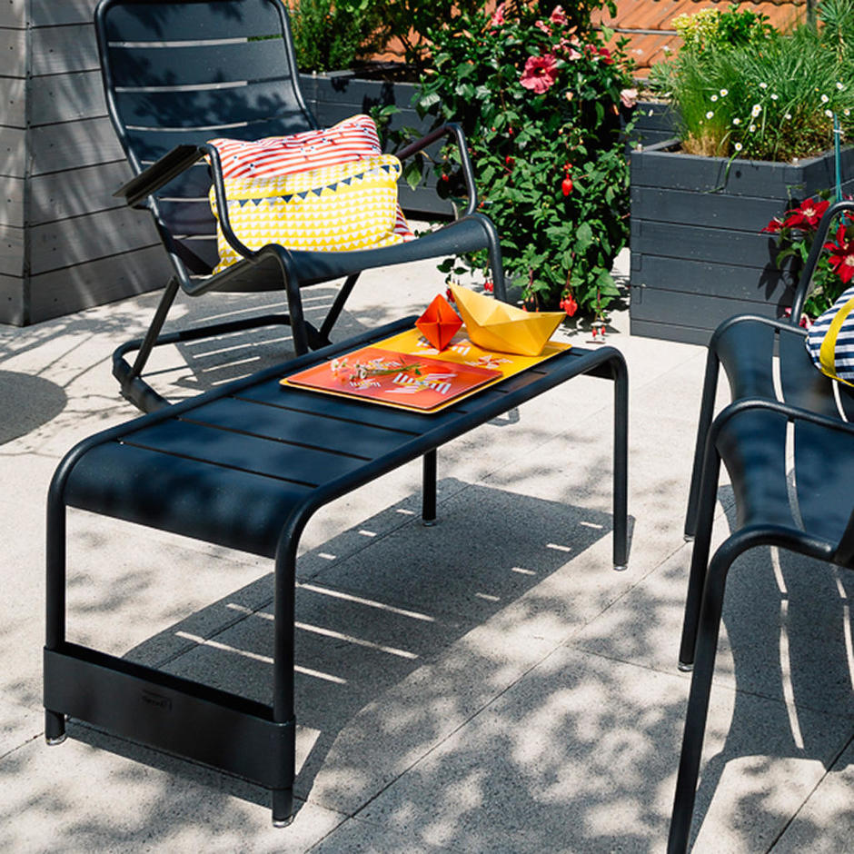 buy luxembourg low tables by fermob outdoor furniture the worm that turned revitalising your. Black Bedroom Furniture Sets. Home Design Ideas