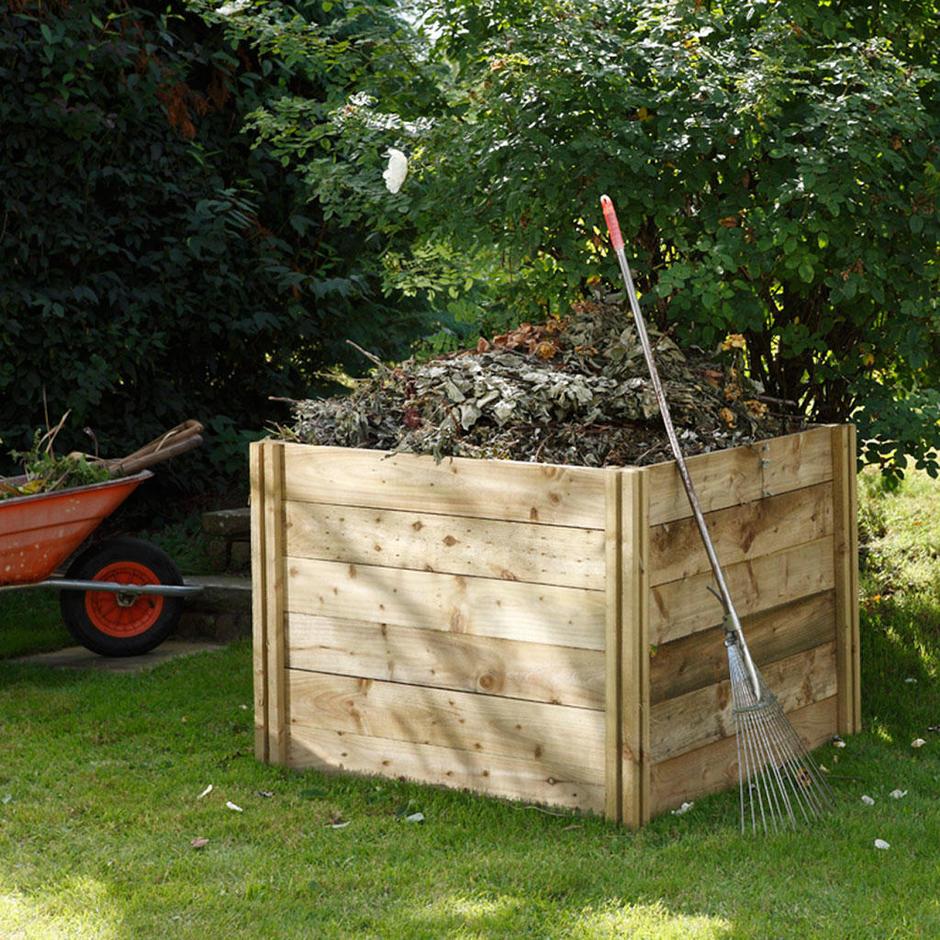 Slot Down Compost Bins