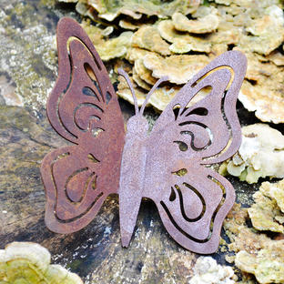 Rustic Wall Butterfly