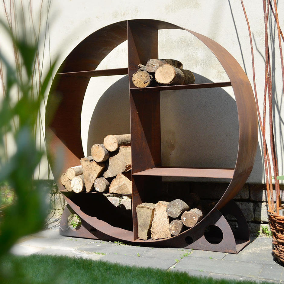 Marvelous Contemporary Log Store