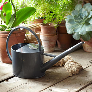 Sophie Conran Grey Enamel Watering Can