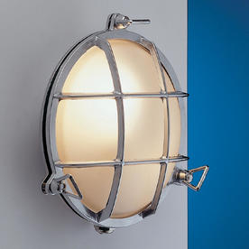 Round Brass Bulkhead Lights