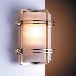 Rectangular Bulkhead Wall Light
