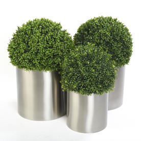 Faux Boxwood Ball