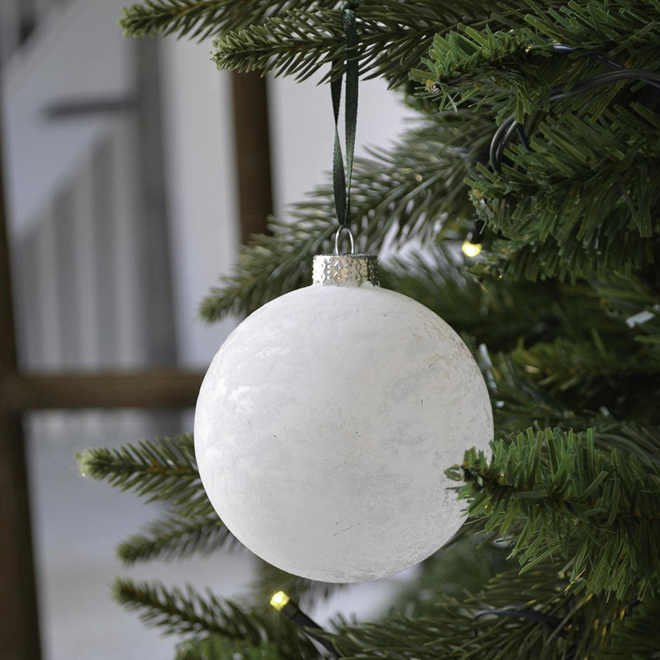 Frosted Glass Bauble